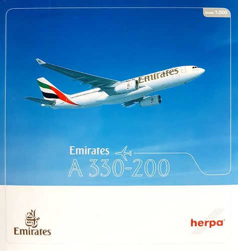 Herpa Wings Emirates A330-243 1:500 - 514132