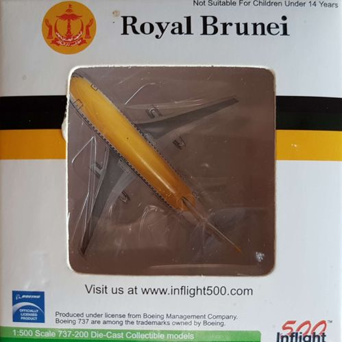 Inflight500 Royal Brunei Airlines B 737-2M6A 1:500 - IF5732006