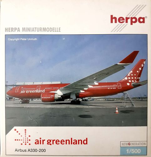 Herpa Wings Air Greenland A330-223 1:500 - 508575