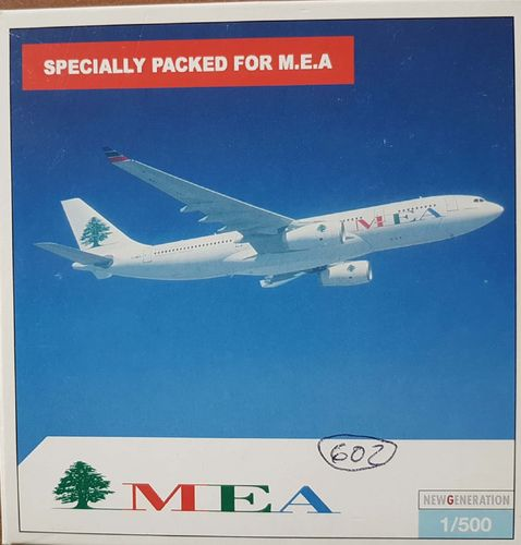 Herpa Wings MEA Middle East Airlines A330-243 1:500 - 508599