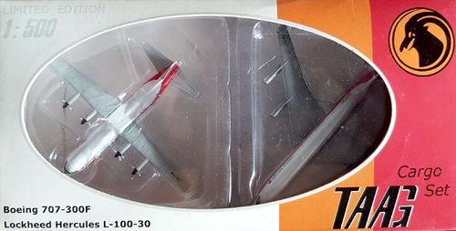 Herpa Wings TAAG Angola Airlines Set  1:500 - 513715