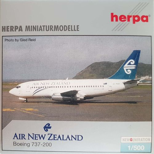 Herpa Wings Air New Zealand B 737-204A 1:500 - 513531