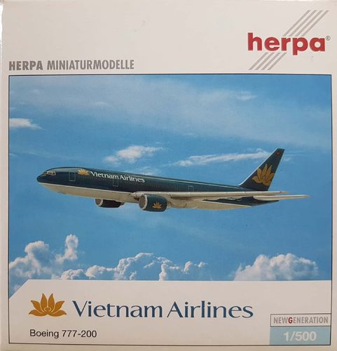 Herpa Wings Vietnam Airlines B 777-2Q8ER 1:500 - 506649