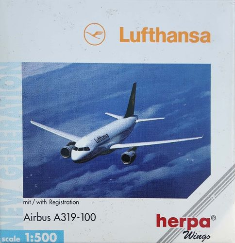 Herpa Wings Lufthansa A319-114 1:500 - 516532