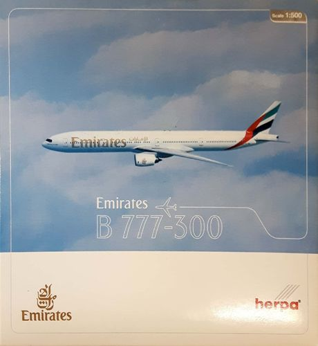 Herpa Wings Emirates B 777-31H 1:500 - 514149
