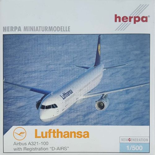 Herpa Wings Lufthansa A321-131 1:500 - 508797 D-AIRS