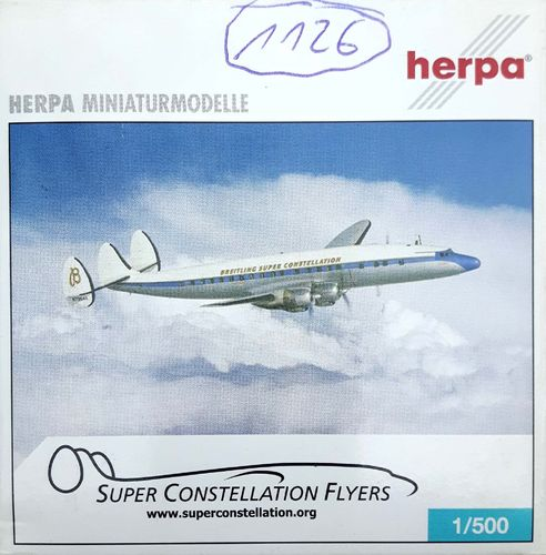 Herpa Wings Super Constellation Flyers C-121C-LO Super Constellation 1:500 - 514279