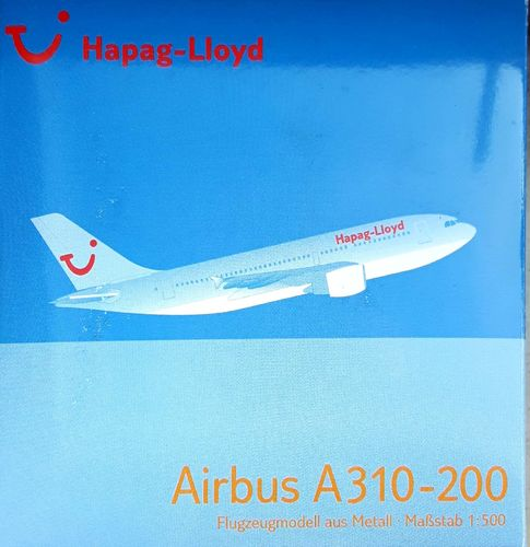 Herpa Wings Hapag Lloyd A310-204 1:500 - 501132