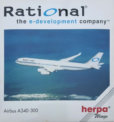 Herpa Wings Fantasy Rational A340-300 1:500 - 504614