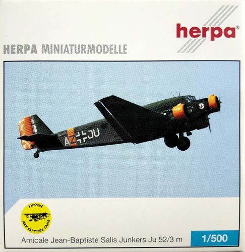 Herpa Wings EADS Ju 52/3m 1:500 - 514057