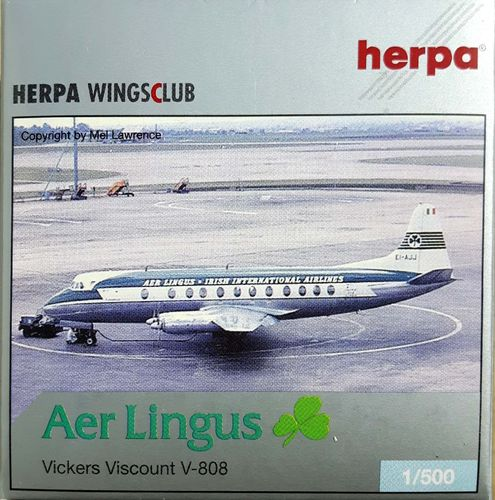 Herpa Wings Aer Lingus Viscount 808 1:500 - 509664