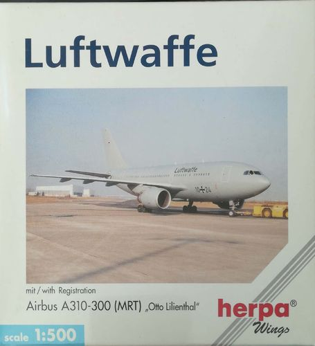"Herpa Wings Luftwaffe A310-304F 1:500 - 512763 ""Otto Lilienthal"""