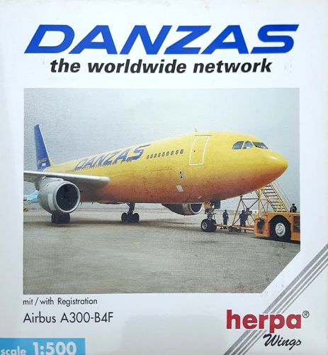 Herpa Wings MNG Airlines A300F4-203 DANZAS 1:500 - 508414