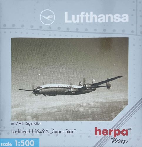Herpa Wings Lufthansa L-1649A-98-17 Starliner 1:500 - 513050