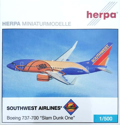 Herpa Wings Southwest Airlines B 737-7H4WL 1:500 - 503211