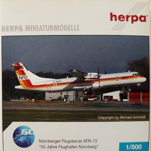 Herpa Wings NFD ATR-72-202 1:500 - 514590