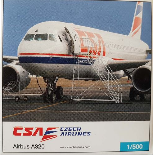 Herpa Wings CSA Czech Airlines A320-214 1:500 - 514798