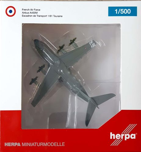 Herpa Wings French Air Force A400M Atlas 1:500 F-RBAA - 527613