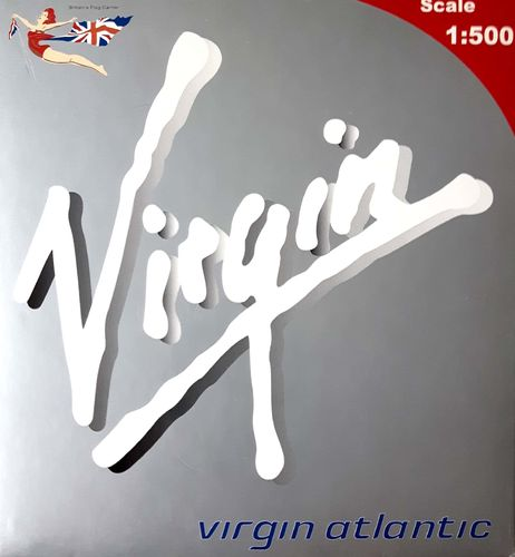 BigBird Virgin Atlantic Airways B 747-443 1:500 - BB5-2002-19 G-VGAL