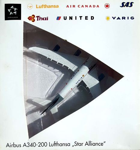 Herpa Wings Lufthansa A340-211 1:500 - 516556 STAR ALLIANCE