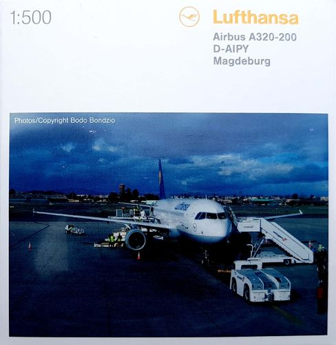 Herpa Wings Lufthansa A320 1:500 - 516501-001 - D-AIPY Magdeburg
