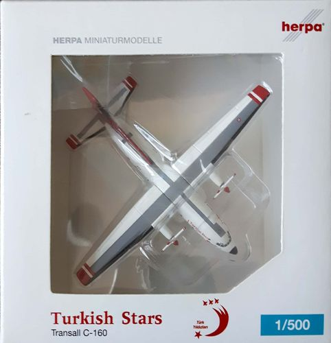 Herpa Wings Turkish Stars C-160 1:500 - 515658 - 69-033