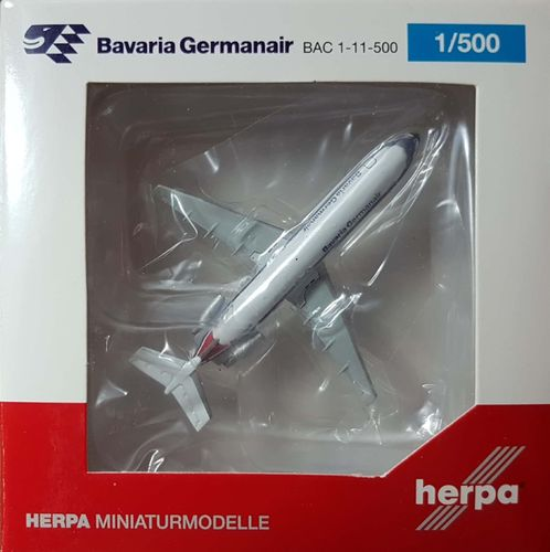Herpa Wings Bavaria Germanair 111-524FF 1:500 - 524179 -  D-ANUE