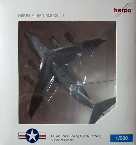 Herpa Wings United States Air Force C-17 Globemaster III 1:500 - 517478