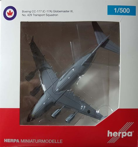 Herpa Wings Royal Canadian Air Force C-17 Globemaster III 1:500 - 527132