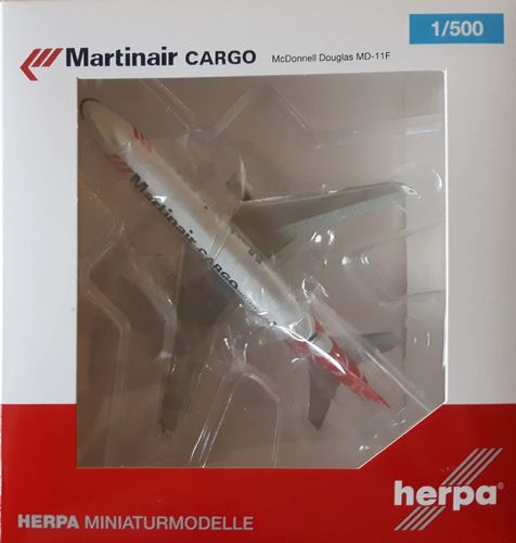 Herpa Wings Martinair Holland - McDonnell Douglas MD-11CF - PH-MCP - 529730
