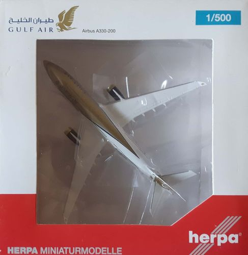 Herpa Wings Gulf Air A330-243 1:500 - 526548 - A9C-KC