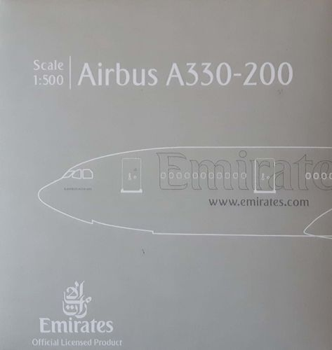 Herpa Wings Emirates A330-243 1:500 - 514132-001 - A6-EAS