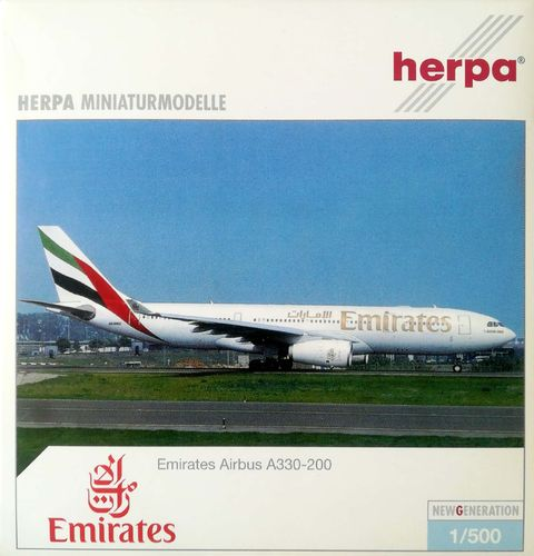 Herpa Wings Emirates A330-243 1:500 - 508445