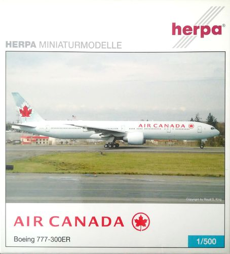 Herpa Wings Air Canada B 777-333ER 1:500 - 510202