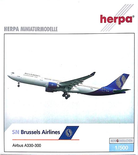 Herpa Wings SN Brussels Airlines A330-301 1:500 - 508582