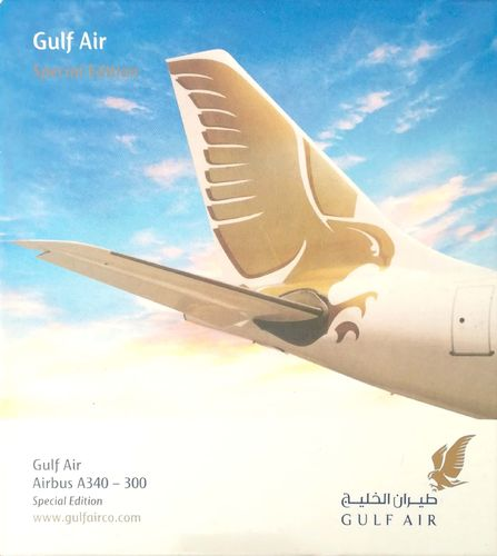 Herpa Wings Gulf Air A340-313X 1:500 - 507455