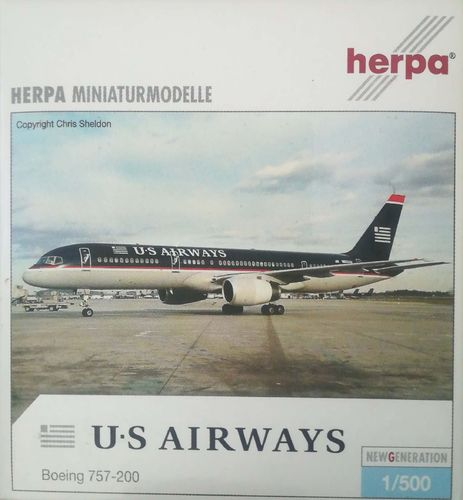 Herpa Wings US Airways B 757-2B7 1:500 - 513173