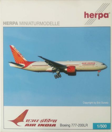 Herpa Wings Air India B 777-237LR 1:500 - 505277