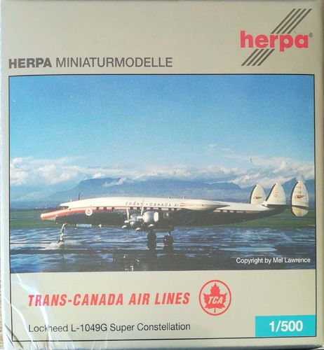 Herpa Wings Trans Canada Airlines L-1049G/02-82 Super Constellation 1:500 - 507233