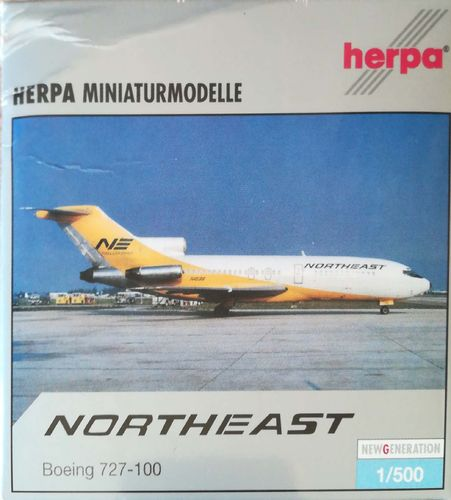Herpa Wings Northeast Airlines B 727-095 1:500 - 513104