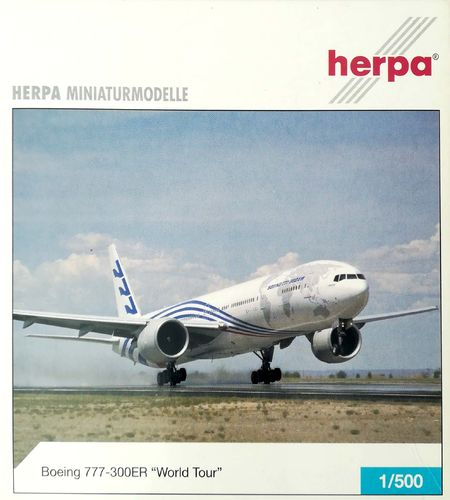 Herpa Wings Boeing Aircraft Company B 777-346ER 1:500 - 506694