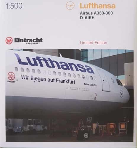 Herpa Wings Lufthansa - Airbus Industries A330-343X 1:500 527941 - D-AIKH Limited Edition