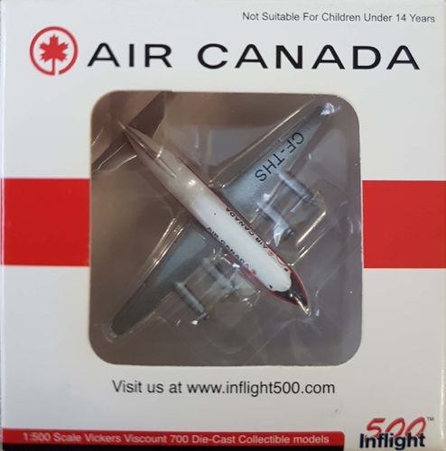 Inflight500 Air Canada Viscount 757 1:500 - IF5701001
