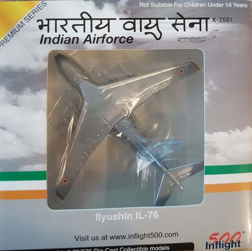 Inflight500 Indian Air Force IL-76MD 1:500 - IF5176010 - K-2661