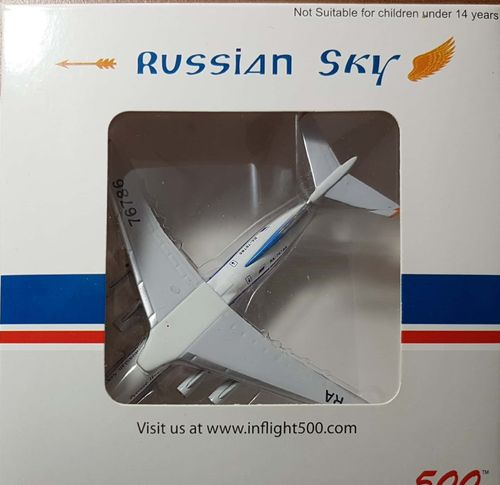 Inflight500 Russian Sky Airlines IL-76TD 1:500 - IF5176006