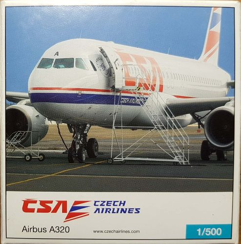 Herpa Wings CSA Czech Airlines A320-214 1:500 - 507981