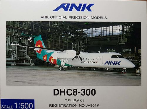Hogan ANK Air Nippon DHC-8-300Q300 with Showcase 1:500 - JA801K - EL50801