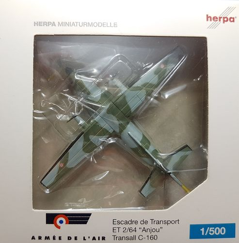 Herpa Wings French Air Force C-160 1:500 - 504980