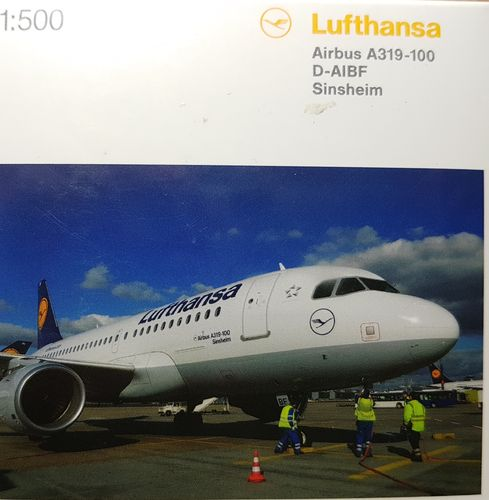 Herpa Wings Lufthansa A319-114 1:500 D-AIBF - 518031-002