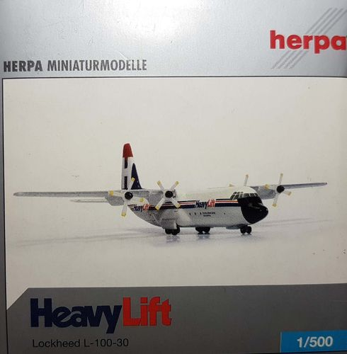 Herpa Wings HeavyLift Cargo Airlines L-100 1:500 - 510882